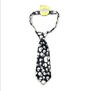 Toddler Skull Tie